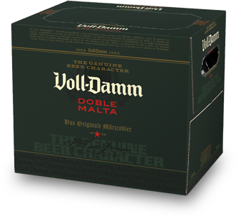 Cerveza VOLL DAMM pack 6x25 cl