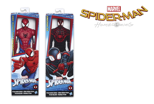 Figura titán Spiderman o Web Warriors