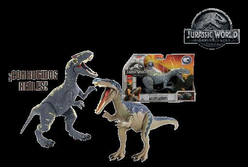 Dinosaurios con sonidos