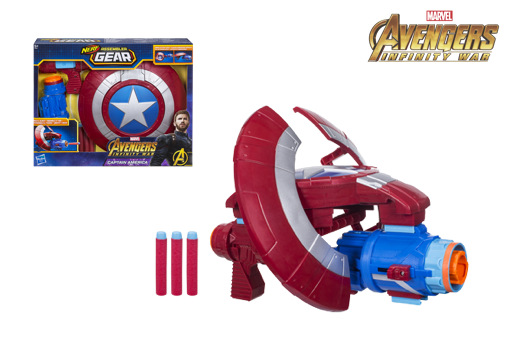 Assembler Gear Capitán América