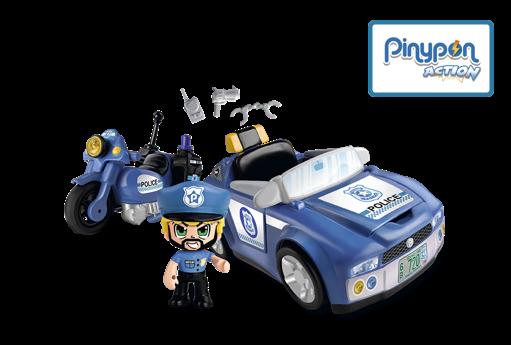 Vehículos de acción: policía