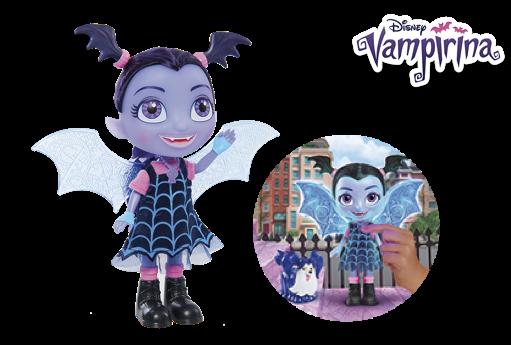 Muñeca Vampirina canta y habla