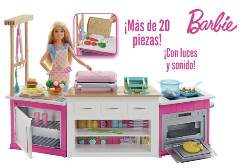 La cocina de Barbie Superchef