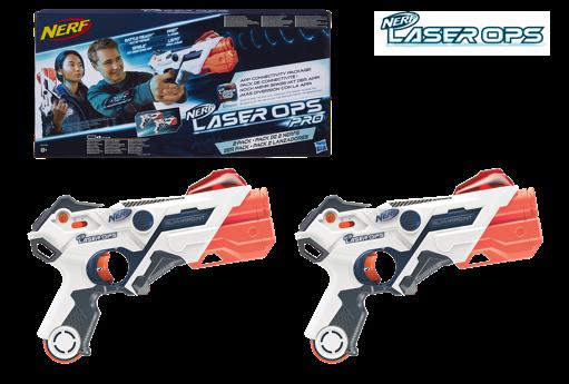Nerf Láser Alphapoint pack 2