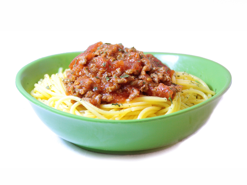 Espaguetis a la boloñesa EROSKI basic