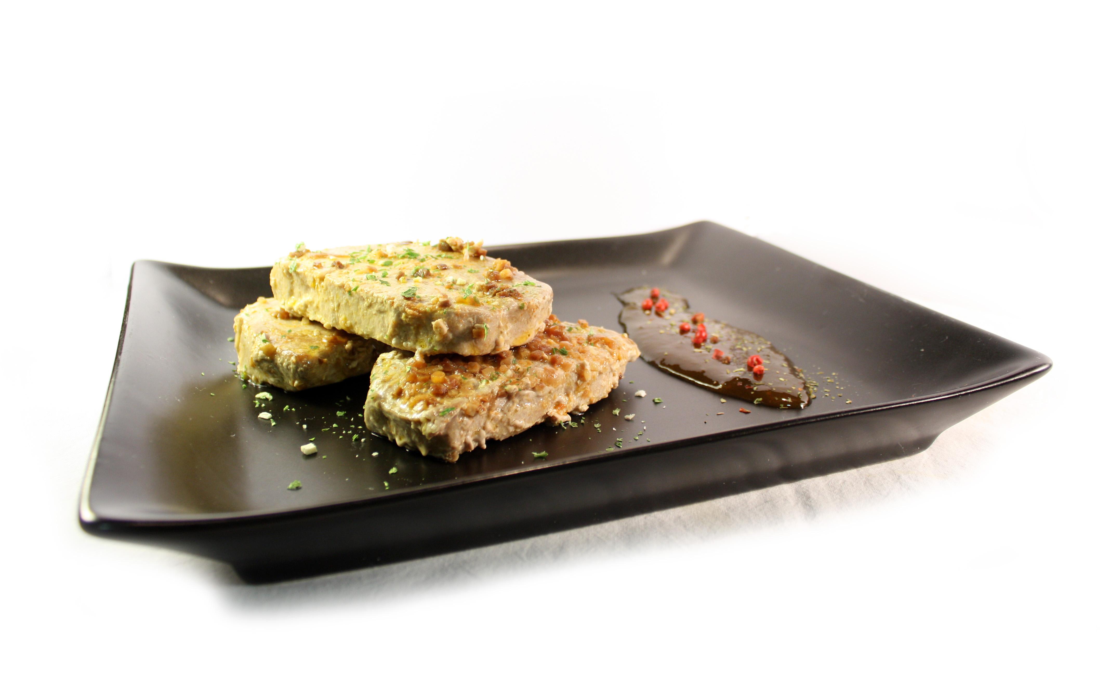Tacos de atún con mermelada agridulce de ciruela EROSKI Sannia