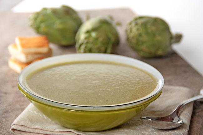 Crema de alcachofas de Tudela EROSKI Natur