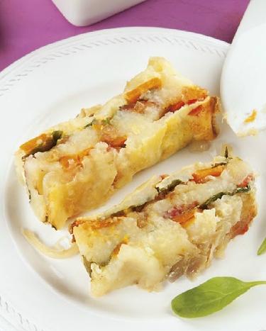 Pastel de patata Eroski NATUR con verdura