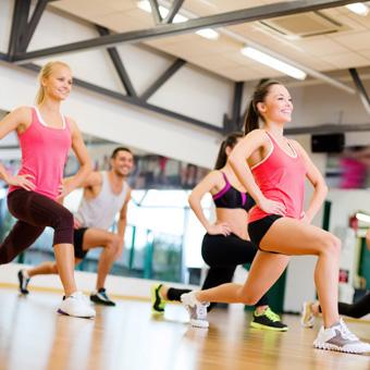 Salud y bienestar Clase de gimnasia