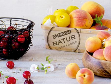 Fruta de hueso Eroski NATUR