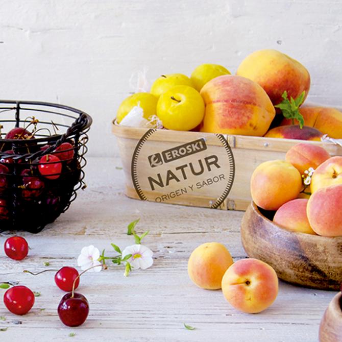 home fruta de hueso Eroski NATUR