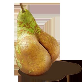 RSC Frutas feas Pera