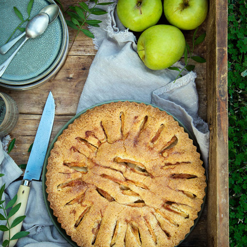 Receta eroski tarta de manzana