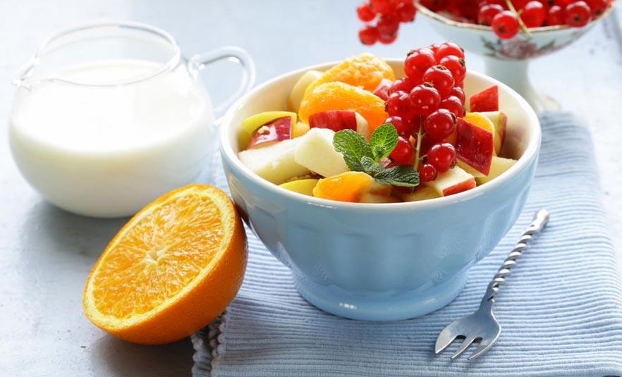 Dieta equilibrada variada y saludable