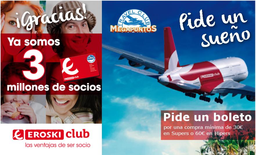 Megapuntos EROSKI club