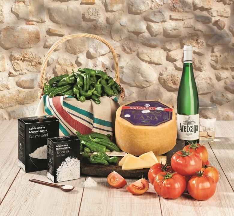 Productos locales País Vasco y Navarra