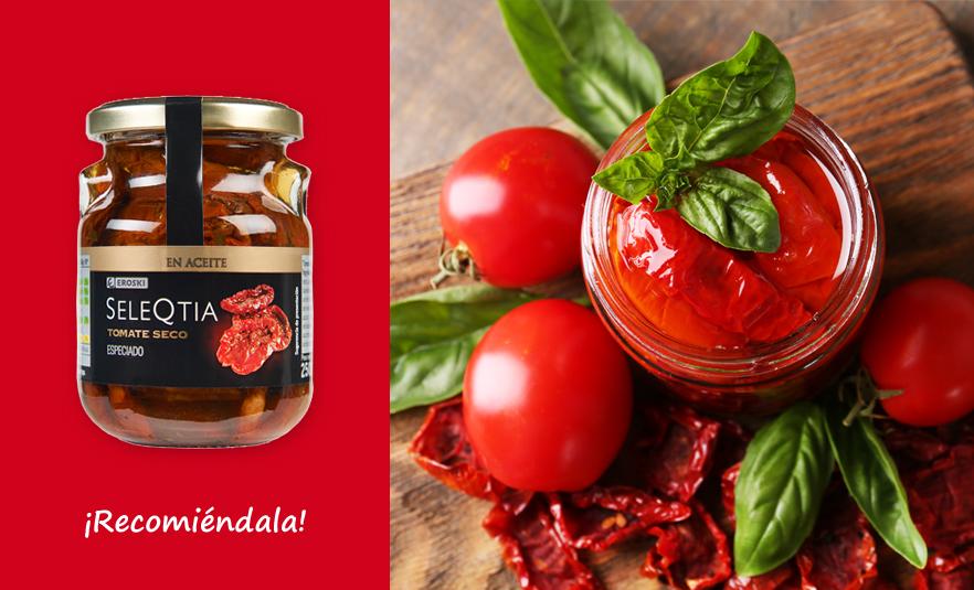 Tomate Seco en Aceite Eroski SeleQtia