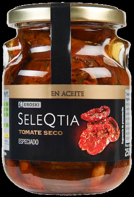 Tomates secos en aceite EROSKI Seleqtia