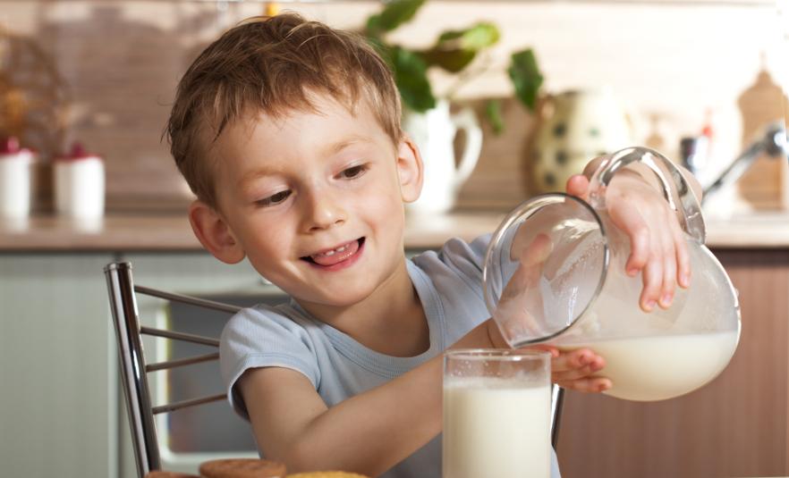 leche alimento saludable y nutritivo