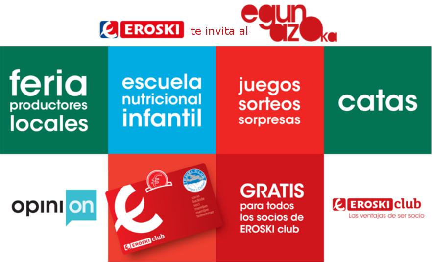 Día del socio EROSKI club - egunazoka