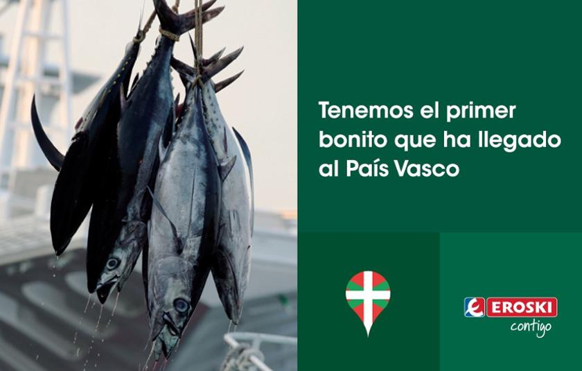 Primer bonito del País Vasco