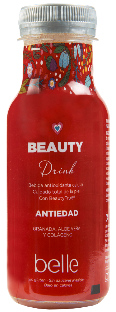Bebida beauty drink belle antiedad