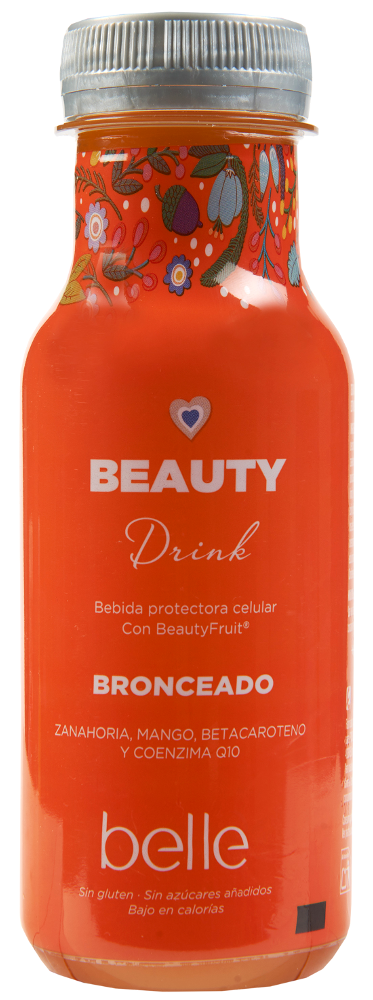 Bebida beauty drink belle bronceado