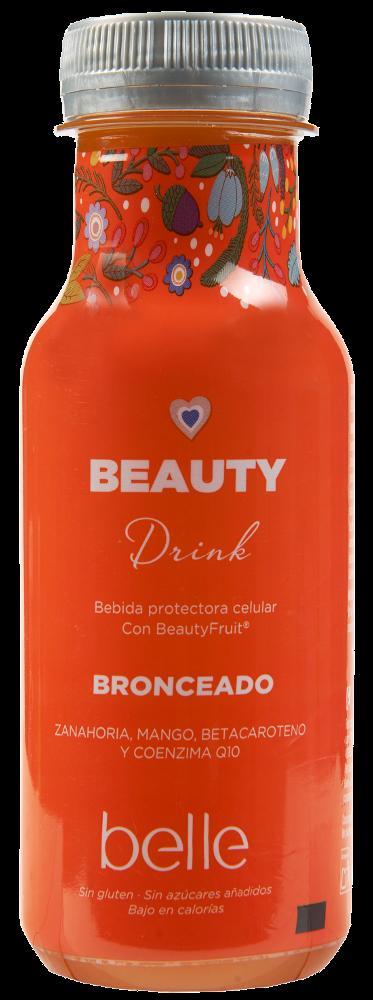 Bebida beauty drink belle bronceado