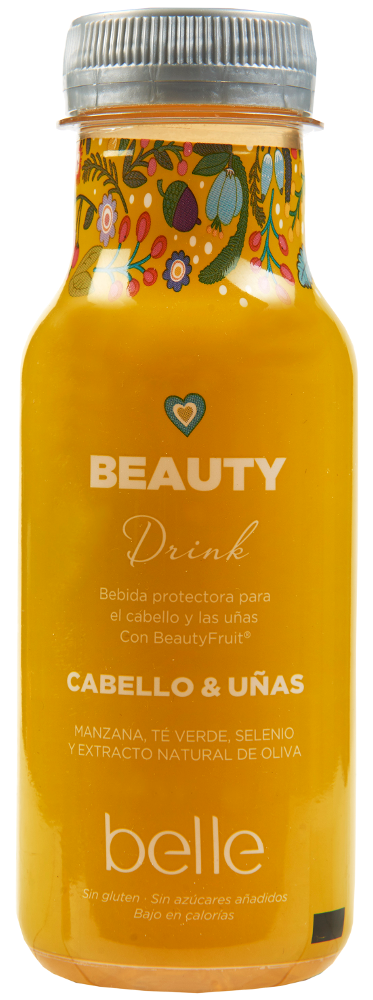 Bebida beauty drink belle cabello y uñas