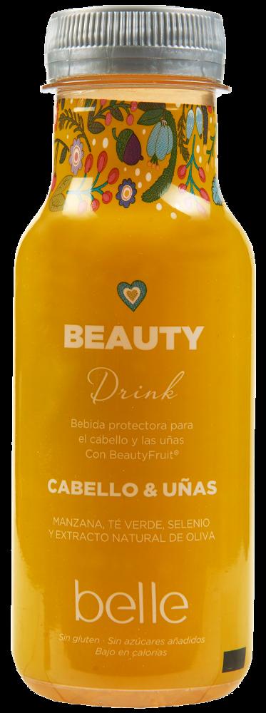 Bebida beauty drink belle cabello y uñas