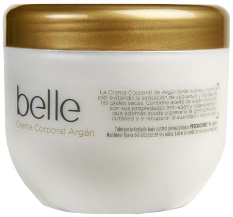 Crema corporal con aceite de Argán belle