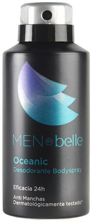 Desodorante bodyspray Oceanic Men by belle