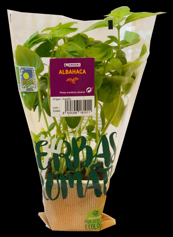 Hierbas aromáticas EROSKI albahaca