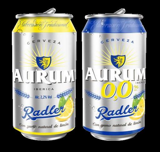 Nueva cerveza aurum radler