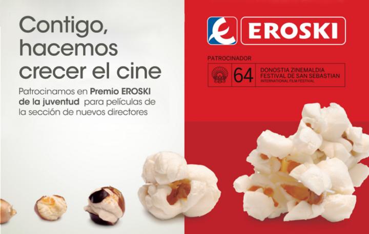 EROSKI patrocinador del Festival de Cine de San Sebastián