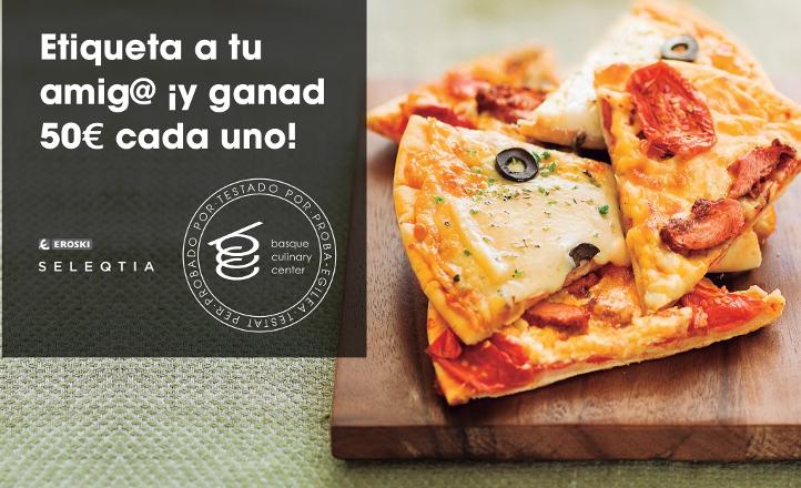 ganadores del sorteo no renuncies a la mejor porcion de pizza Eroski SELEQTIA
