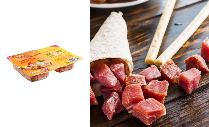 Nuevos taquitos de cocina EROSKI de jamón, bacon y pavo