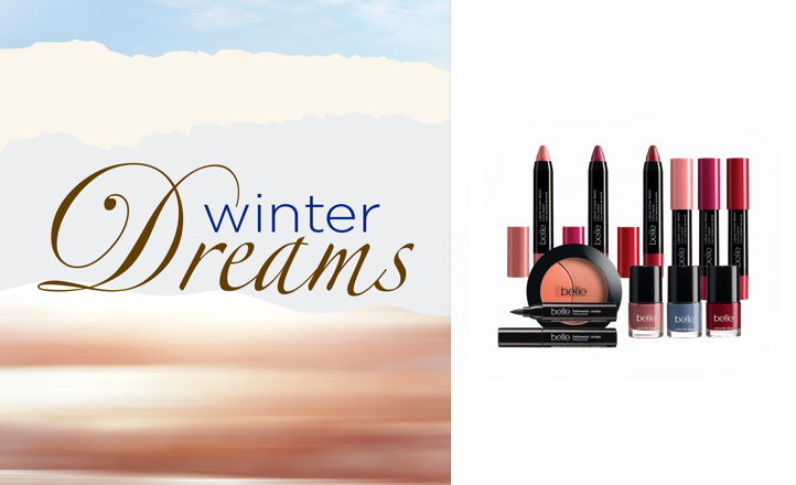 Nueva colección de maquillaje Winter Dreams de belle&Make-Up
