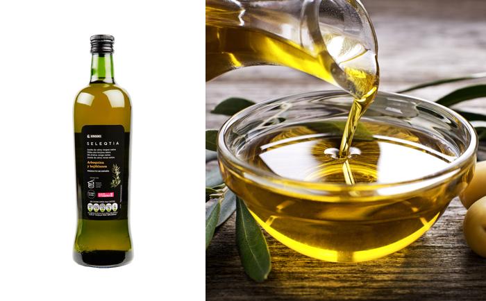 Puedes hacer clic en cualquier elemento de la vista previa para ir al editor del snippet. SEO title preview: Aceite de oliva virgen extra Eroski SELEQTIA, oro líquido