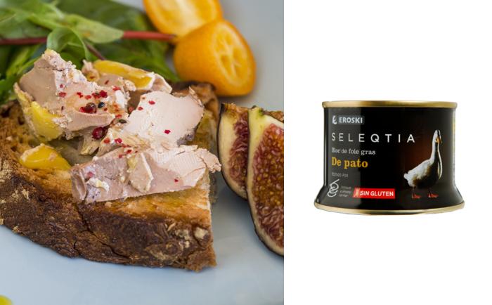 Puedes hacer clic en cualquier elemento de la vista previa para ir al editor del snippet. SEO title preview: Bloc de foie gras Eroski SELEQTIA, un placer gourmet