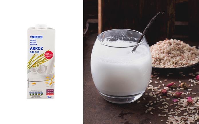 Nueva bebida de arroz EROSKI destaca por su gran digestibilidad