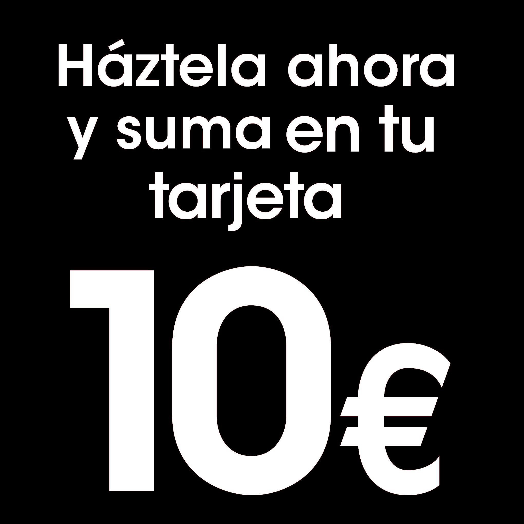 Hazte ahora tu tarjeta EROSKI club Mastercard y suma en tu tarjeta 10 euros