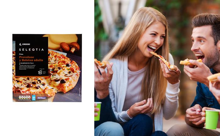 pizzas Eroski SELEQTIA