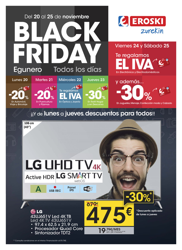 BLACK FRIDAY EUSKERA
