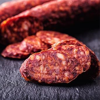 Chorizo , IGP Chorizo Riojano