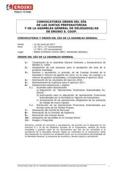 thumbnail of Convocatoria y acuerdos AG 2017