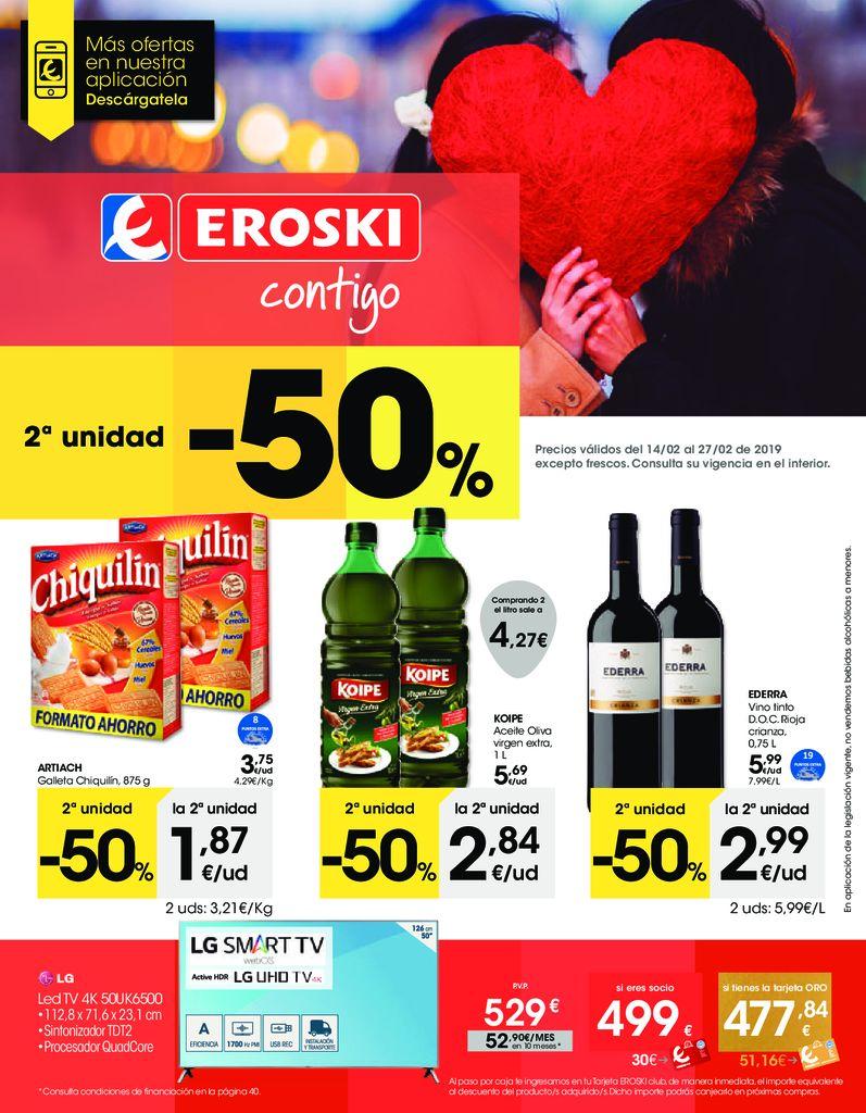 Ofertas Eroski Hiper castellano