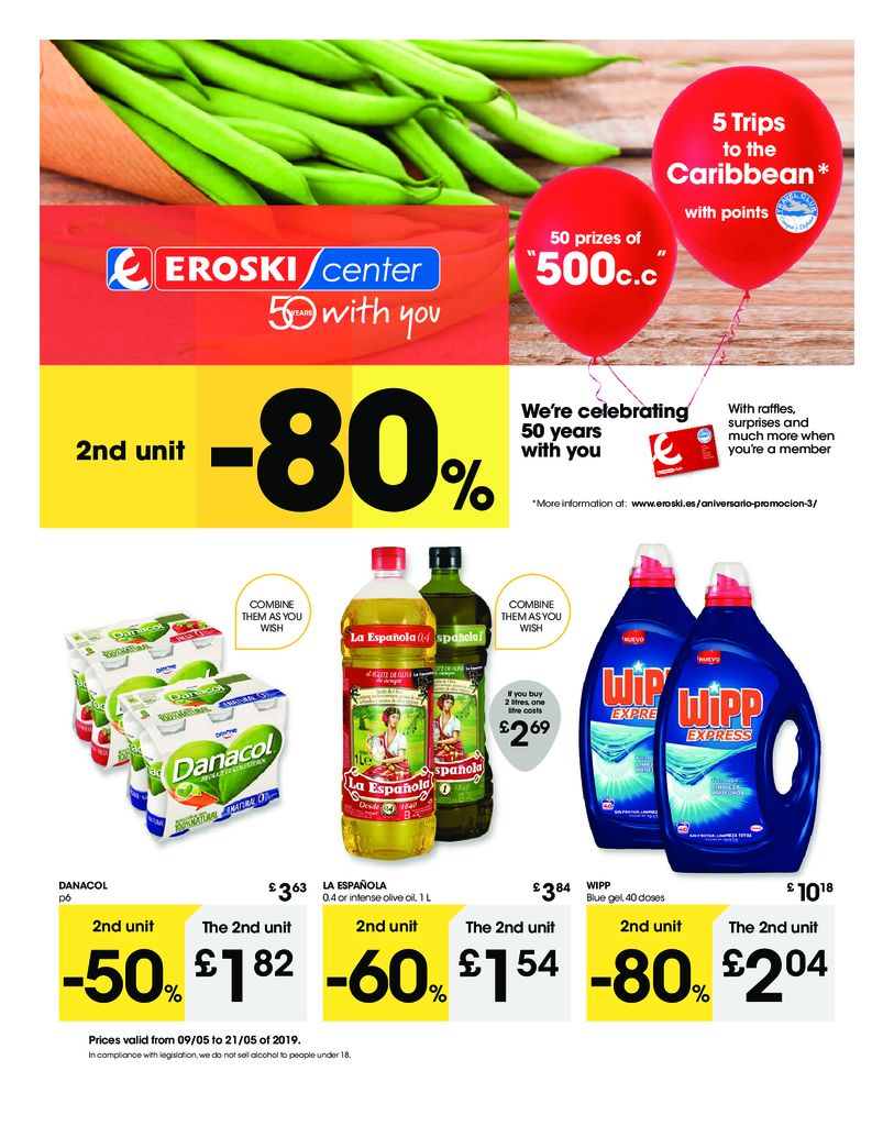 Ofertas Eroski Center Gibraltar