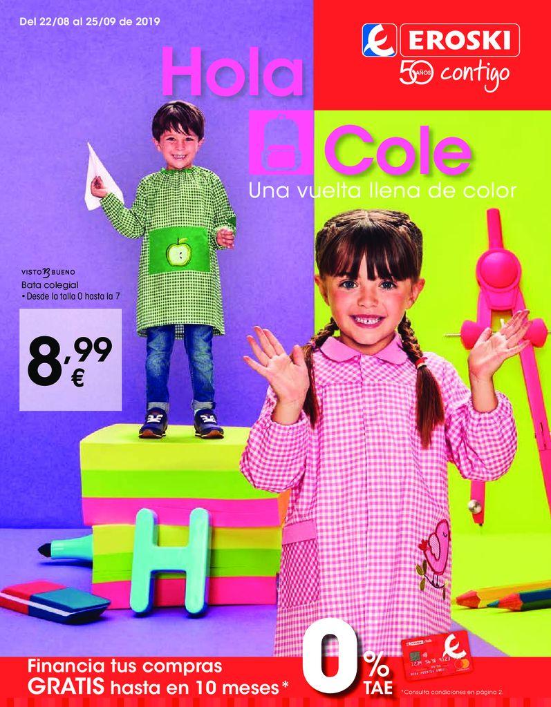 Monográfico Vuelta al Cole 2019 VEGALSA LA BAÑEZA