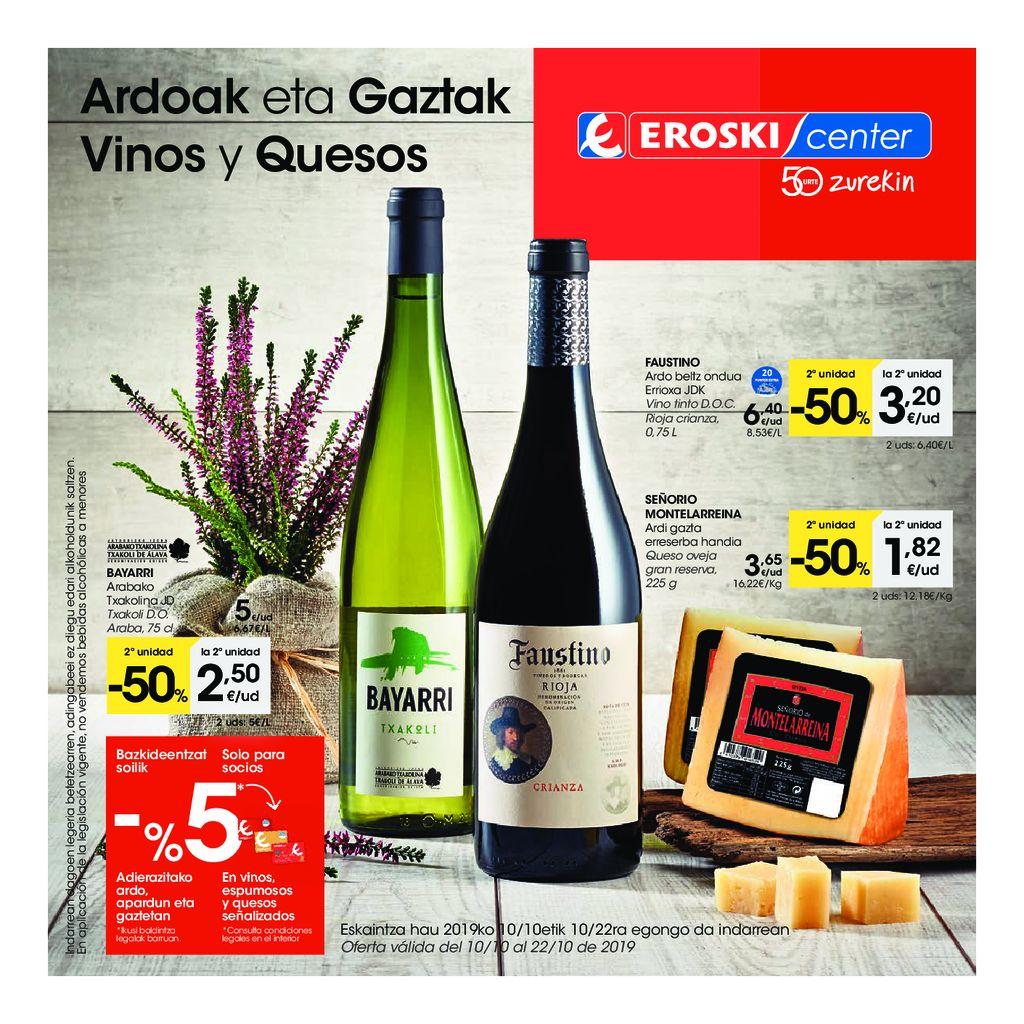 vinos y quesos center pv 2q octubre